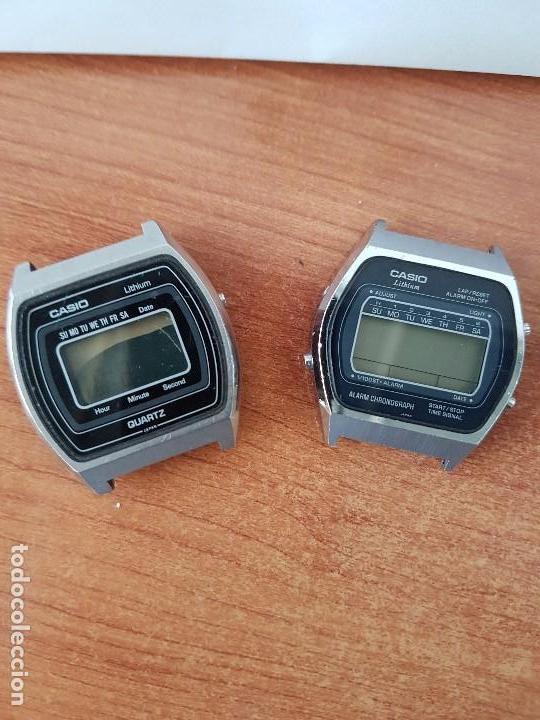 Relojes - Casio: Dos relojes de caballero (Vintage) Casio para repuestos (Fornituras) mirar todas las fotos. - Foto 2 - 62142064
