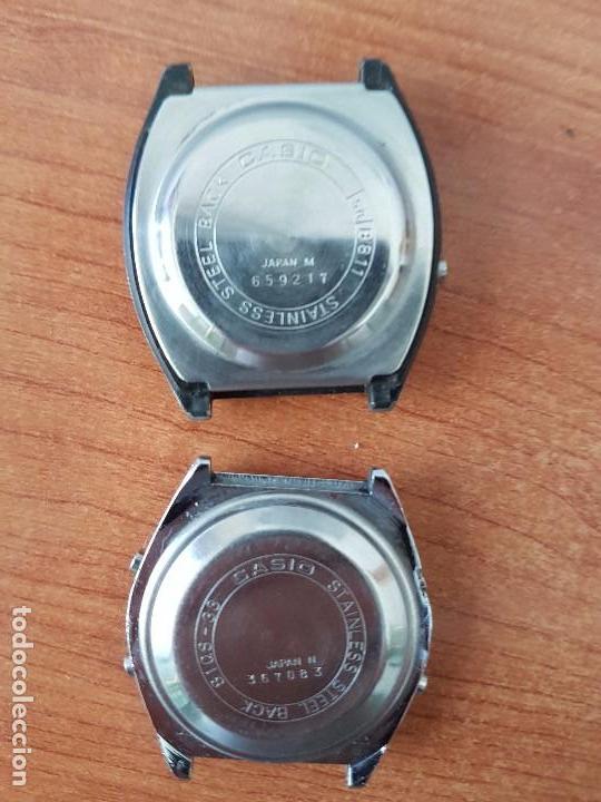 Relojes - Casio: Dos relojes de caballero (Vintage) Casio para repuestos (Fornituras) mirar todas las fotos. - Foto 3 - 62142064