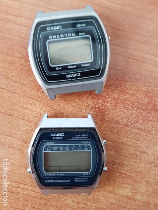 Relojes - Casio: Dos relojes de caballero (Vintage) Casio para repuestos (Fornituras) mirar todas las fotos. - Foto 4 - 62142064