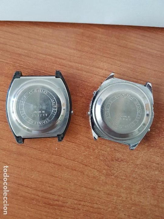 Relojes - Casio: Dos relojes de caballero (Vintage) Casio para repuestos (Fornituras) mirar todas las fotos. - Foto 5 - 62142064
