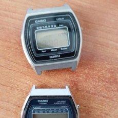 Relojes - Casio: DOS RELOJES DE CABALLERO (VINTAGE) CASIO PARA REPUESTOS (FORNITURAS) MIRAR TODAS LAS FOTOS.. Lote 62142064