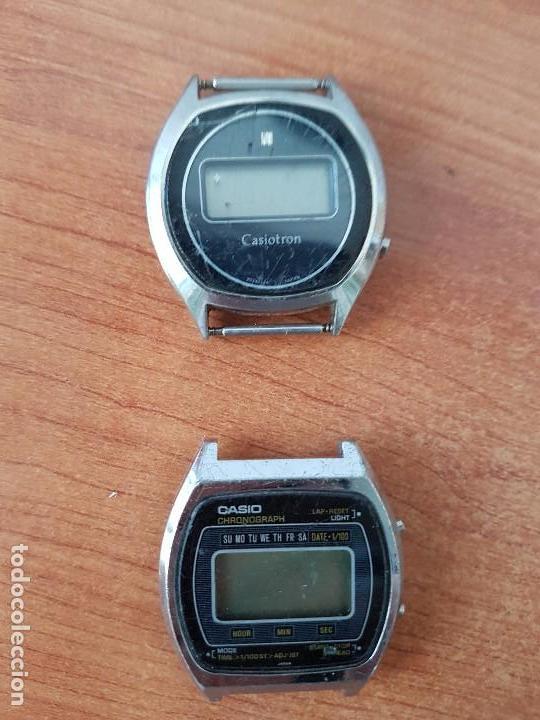 Relojes - Casio: Dos relojes de caballero (Vintage) Casio para repuestos (Fornituras) mirar todas las fotos. - Foto 2 - 62142564