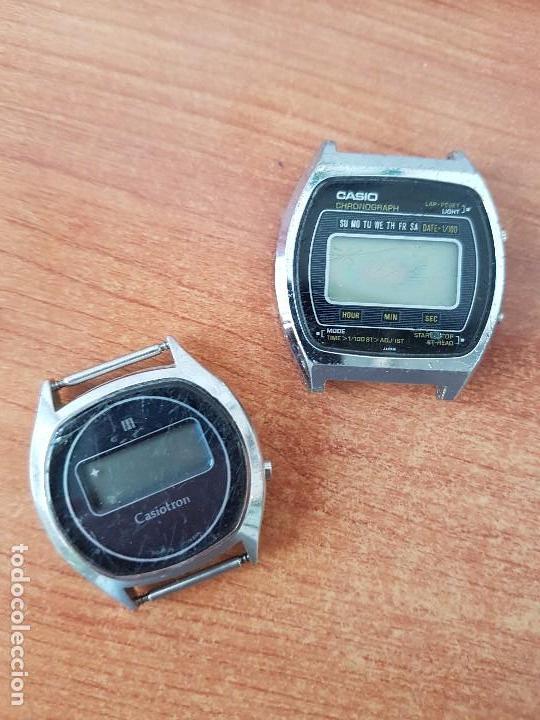 Relojes - Casio: Dos relojes de caballero (Vintage) Casio para repuestos (Fornituras) mirar todas las fotos. - Foto 3 - 62142564