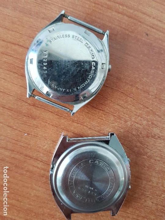 Relojes - Casio: Dos relojes de caballero (Vintage) Casio para repuestos (Fornituras) mirar todas las fotos. - Foto 4 - 62142564