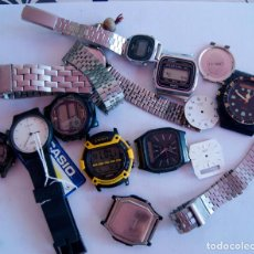 Relojes - Casio: LOTE DE 10 CASIO Y PIEZAS Q22. Lote 62284132