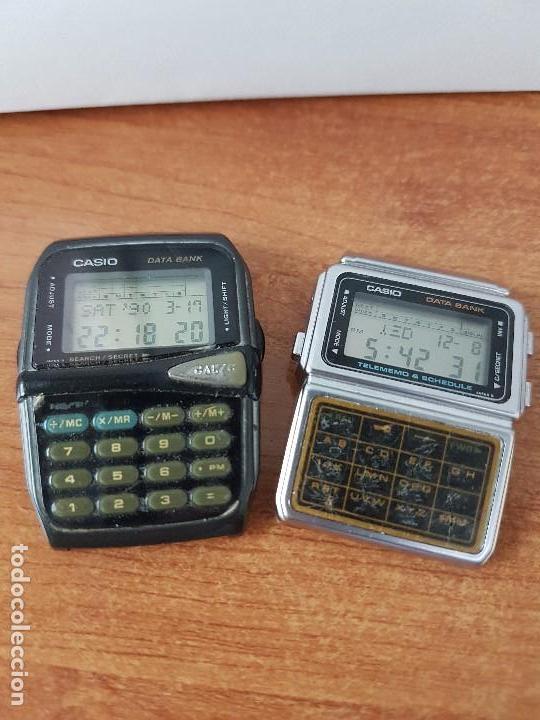 Relojes - Casio: Dos relojes de caballero (Vintage) Casio para repuestos (Fornituras) mirar todas las fotos. - Foto 3 - 62461448