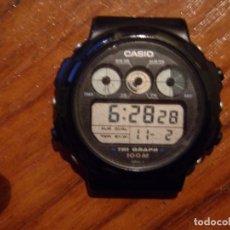 Relojes - Casio: RELOJ DIGITAL CASIO TRIGRAPH TGW-10. Lote 64485599