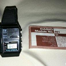 Relojes - Casio: IMPRESIONANTE RELOJ CASIO TM 100 TRANSMITTER VOICE JAPAN 1987. Lote 67556003