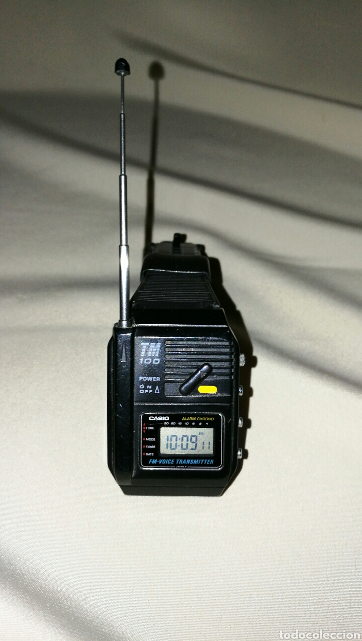 Relojes - Casio: Impresionante reloj Casio TM 100 transmitter voice Japan 1987 - Foto 3 - 67556003