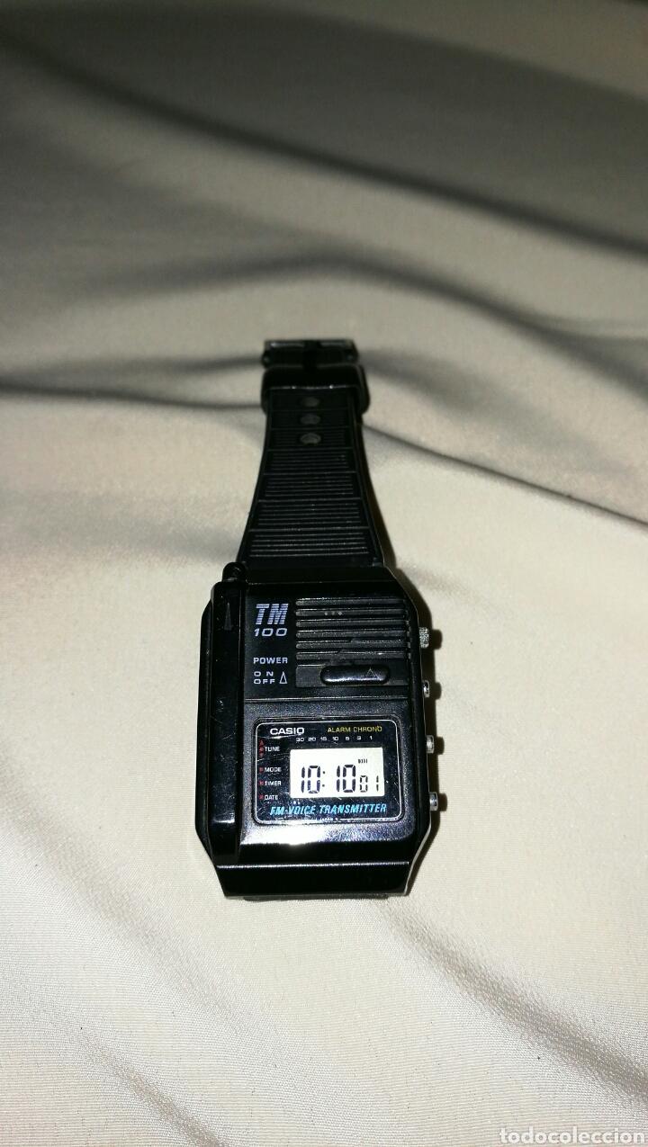 Relojes - Casio: Impresionante reloj Casio TM 100 transmitter voice Japan 1987 - Foto 6 - 67556003
