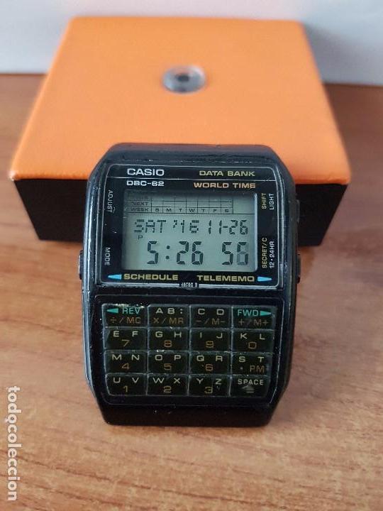 Relojes - Casio: Un reloj de caballero (Vintage) Casio data bank calibre DBC-82 módulo 676, fecha fabricación 1980. - Foto 4 - 67690277