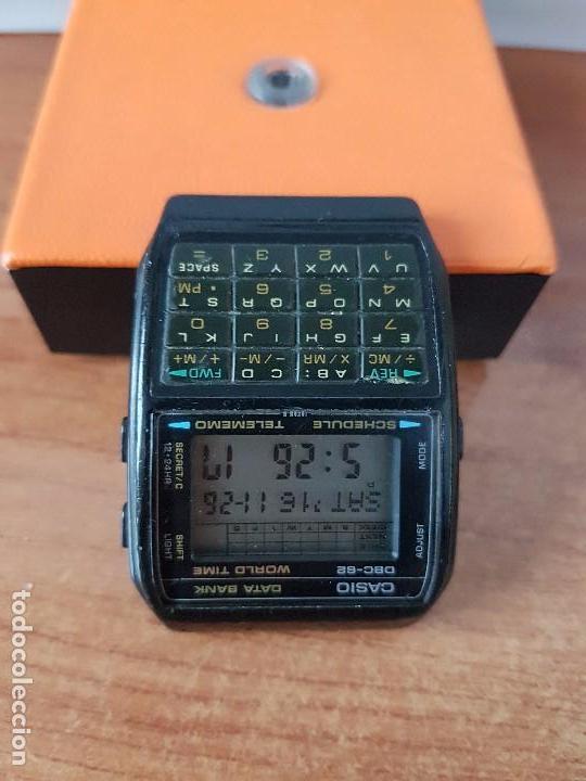Relojes - Casio: Un reloj de caballero (Vintage) Casio data bank calibre DBC-82 módulo 676, fecha fabricación 1980. - Foto 7 - 67690277