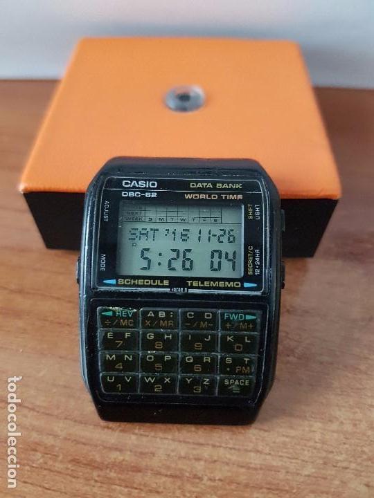 Relojes - Casio: Un reloj de caballero (Vintage) Casio data bank calibre DBC-82 módulo 676, fecha fabricación 1980. - Foto 9 - 67690277