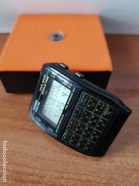 Relojes - Casio: Un reloj de caballero (Vintage) Casio data bank calibre DBC-82 módulo 676, fecha fabricación 1980. - Foto 10 - 67690277