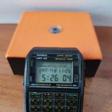 Relojes - Casio: UN RELOJ DE CABALLERO (VINTAGE) CASIO DATA BANK CALIBRE DBC-82 MÓDULO 676, FECHA FABRICACIÓN 1980.. Lote 67690277