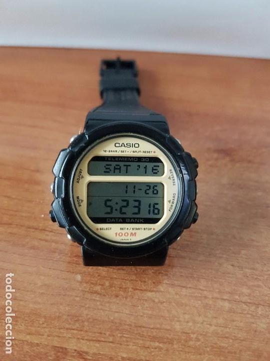 Relojes - Casio: Un reloj de caballero (Vintage) Casio calibre DGW-30 módulo 976, fabricación 1980, correa goma - Foto 3 - 67690641