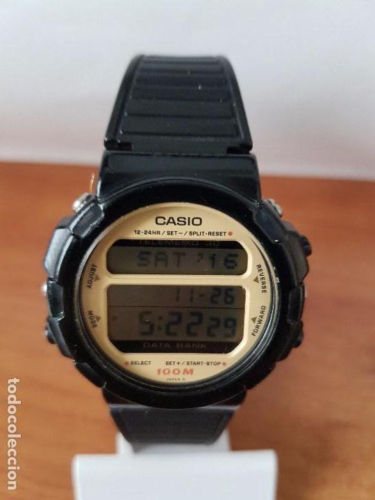 Relojes - Casio: Un reloj de caballero (Vintage) Casio calibre DGW-30 módulo 976, fabricación 1980, correa goma - Foto 6 - 67690641
