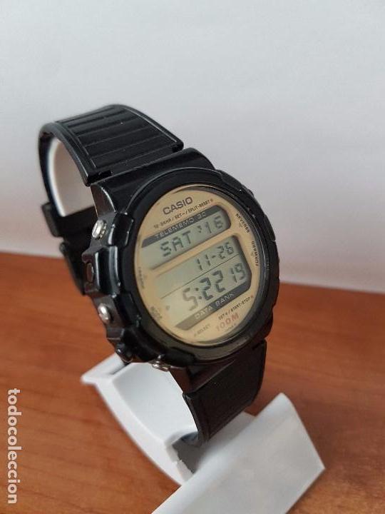 Relojes - Casio: Un reloj de caballero (Vintage) Casio calibre DGW-30 módulo 976, fabricación 1980, correa goma - Foto 7 - 67690641