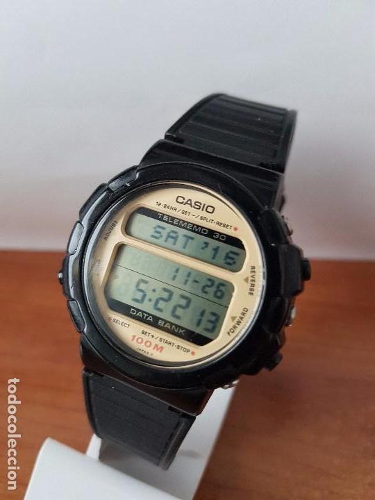 Relojes - Casio: Un reloj de caballero (Vintage) Casio calibre DGW-30 módulo 976, fabricación 1980, correa goma - Foto 12 - 67690641
