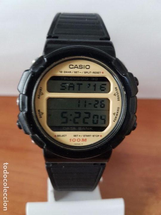 UN RELOJ DE CABALLERO (VINTAGE) CASIO CALIBRE DGW-30 MÓDULO 976, FABRICACIÓN 1980, CORREA GOMA (Relojes - Relojes Actuales - Casio)