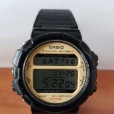 Relojes - Casio: UN RELOJ DE CABALLERO (VINTAGE) CASIO CALIBRE DGW-30 MÓDULO 976, FABRICACIÓN 1980, CORREA GOMA. Lote 67690641