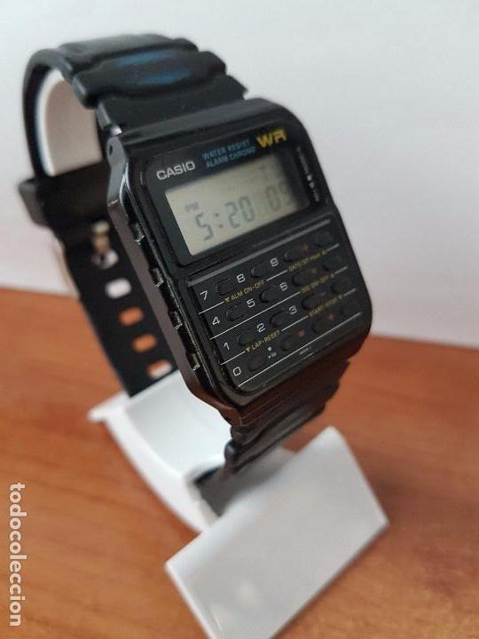 Relojes - Casio: Un reloj de caballero (Vintage) Casio alarma, crono, calculadora, calibre CA-53W módulo 437. - Foto 6 - 115515490