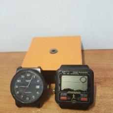 Relojes - Casio: DOS RELOJES CABALLERO (VINTAGE) CASIO UNO JUEGOS MUY DIFÍCIL DE CONSEGUIR PARA REPUESTOS O REPARAR. Lote 68413725