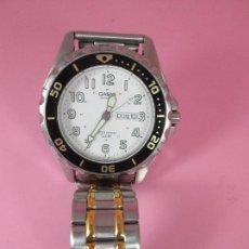 Relojes - Casio: *(14)-RELOJ-CASIO QUARTZ-TIPO DIVER-47 MM CON CORONA-EXCELENTE ESTADO-VER FOTOS. Lote 68955533