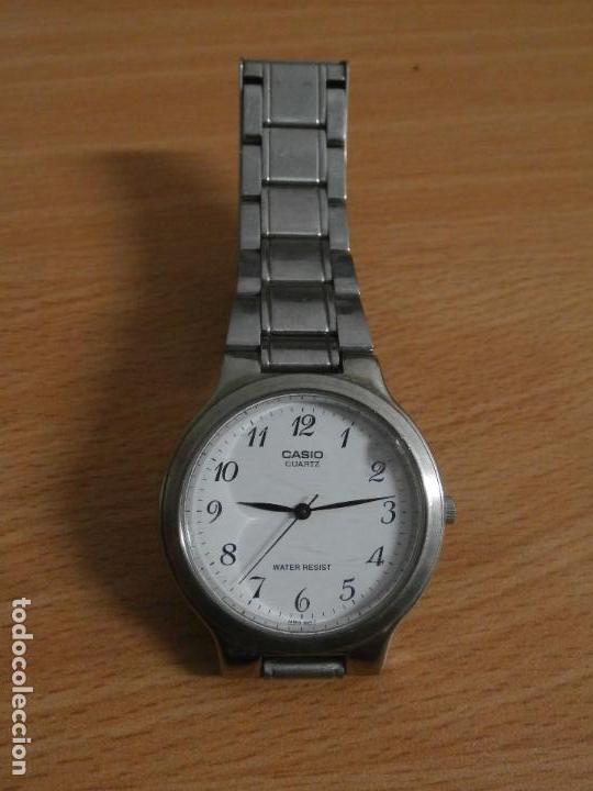 36699f99475f reloj casio caballero acero analogico modelo 705 mtp 1131 funcionando  perfectamente pilas incluidas