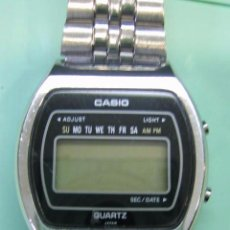 Relojes - Casio: RELOJ CASIO. FALTA PILA. Lote 76913019