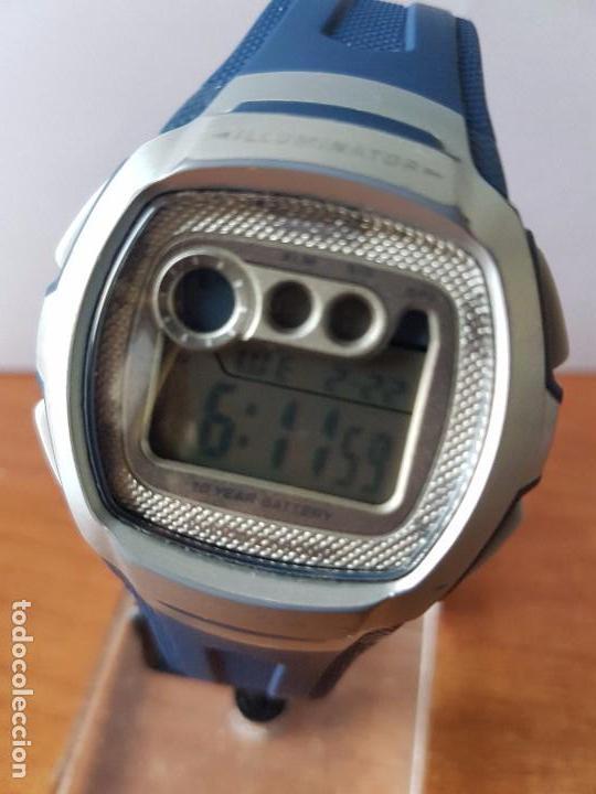 9e3ab1d95134 Relojes - Casio  Reloj caballero Casio de cuarzo W - 210 con correa de goma