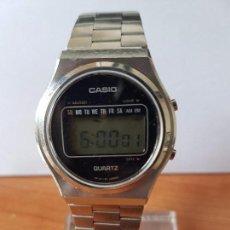 Relojes - Casio: RELOJ DE CABALLERO (VINTAGE CASIO MODELO 51QR-19, AÑO 70, CON CORREA ORIGINAL CASIO PARA USO DIARIO. Lote 77583989