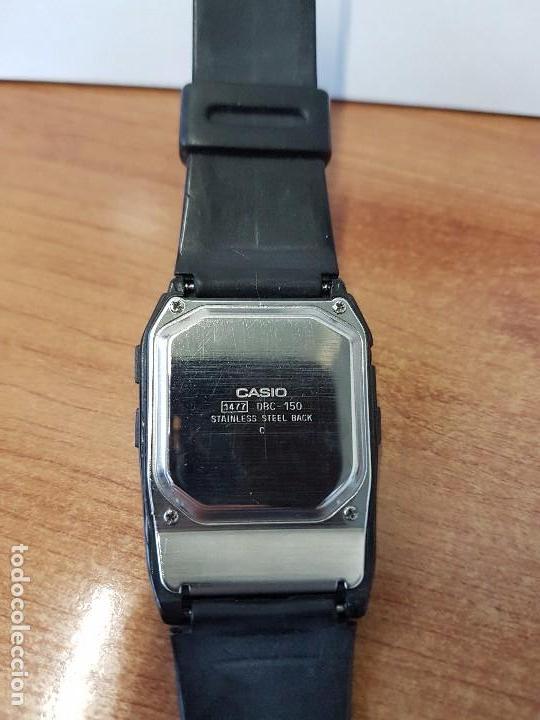 Relojes - Casio: Reloj caballero Vintage Casio Data Bank DBC - 150 módulo 1477 con correa Casio original para su uso - Foto 4 - 77595005