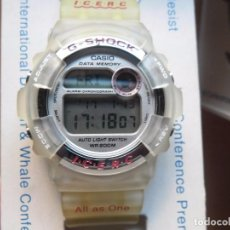 Relojes - Casio: RELOJ CASIO VINTAGE G-SHOCK DW-9200K JAPAN LIMITED EDITION ICERC NOS COMPLETO. Lote 78871021