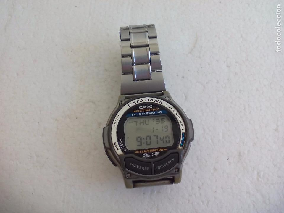 e31d99b602ba 6 fotos VINTAGE RELOJ DE PULSERA CASIO DATA BANK WATCH 1600 DB-34H (Relojes  - Relojes ...