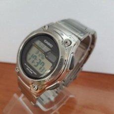 Relojes - Casio: RELOJ DE CABALLERO CASIO MODELO 3091. W-211 DE ACERO CON CORREA DE ACERO RECIÉN COMPRADO. Lote 81833232