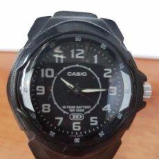Relojes - Casio: RELOJ DE CABALLERO (VINTAGE) CASIO CUARZO MODELO 1311- MW - 600 CON CORREA DE CAUCHO ORIGINAL CASIO. Lote 82089576