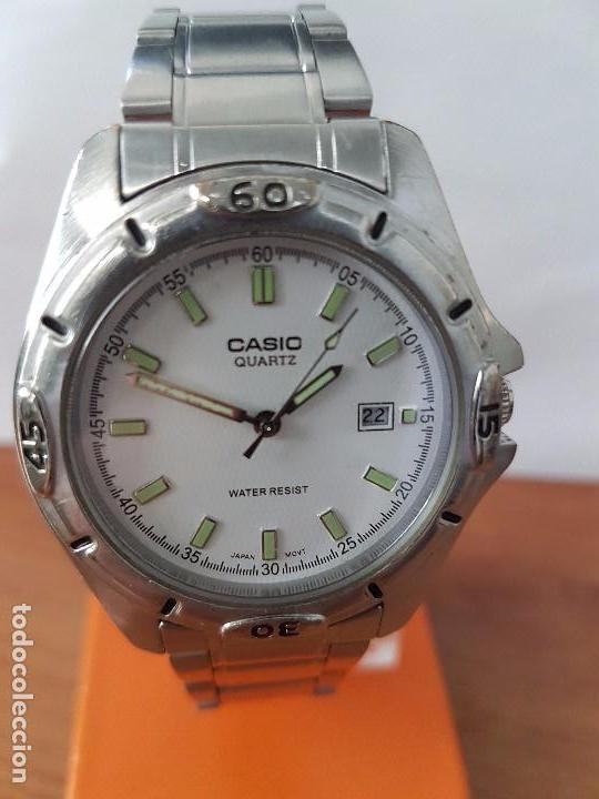 00c398a65db6 Relojes - Casio  Reloj de caballero Analógico Casio de cuarzo acero con  calendario a las