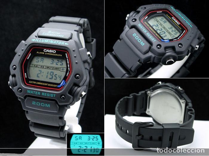 6562d9dad105 Relojes - Casio  Casio buceo watch sport 200m w.r reloj retro futurista  modelo Misión Imposible