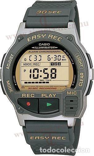 RELOJ Casio VINTAGE COLLECTION f-v3-1T 1589 MADE IN JAPAN Y EASY VOICE  REC.COLECCIONISTAS 1fb56f325498