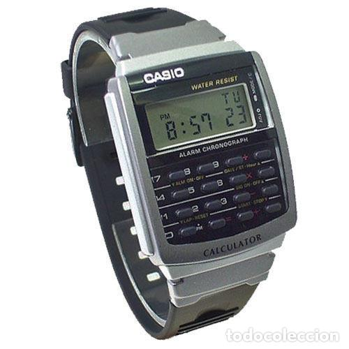 7548e8ac6862 Reloj Casio calculator super retro vintage calculadora modelo regreso al  futuro watch.100% original
