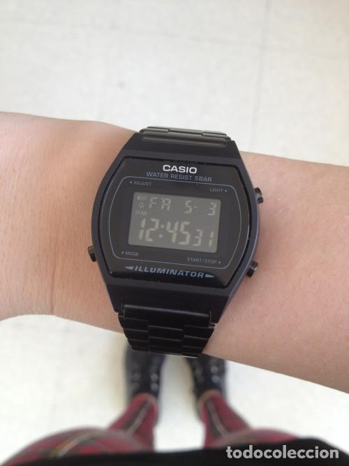 a98d7736e1bc Relojes - Casio  Reloj Casio collection black steel NEW SEASON UNISEX  B640WB-1BEF WATCH