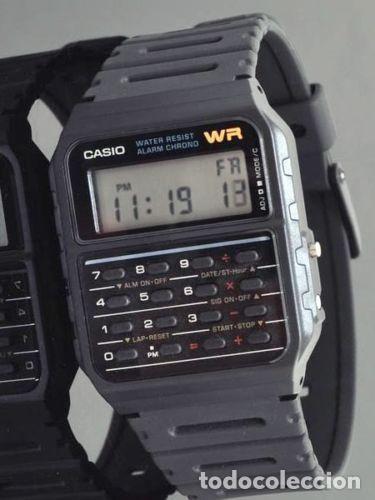 56b8bf34e108 Reloj Casio calculator super retro vintage BACK TO THE FUTURE calculadora  regreso al futuro NUEVO!!!