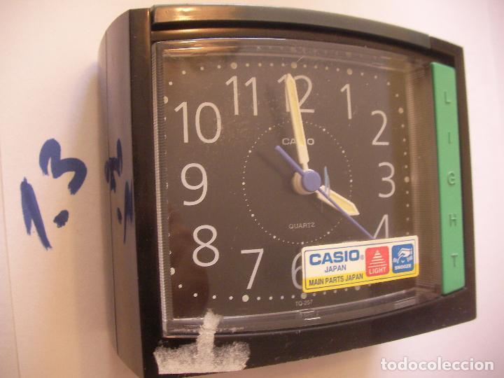 ANTIGUO RELOJ CASIO EN PERFECTO ESTADO DE FUNCIONAMIENTO CON ALARMA Y LUZ (Relojes - Relojes Actuales - Casio)