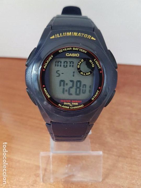 0bd113447b7e reloj de caballero casio 2518. f-200 de resina - Comprar Relojes ...