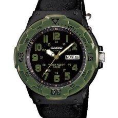 Relojes - Casio: RELOJ CASIO CAMOUFLAGE MILITARY STYLE MONTRE OROLOGIO US GREEN ARMY BLACK BAND VERDE MILITAR NUEVO!. Lote 128787620