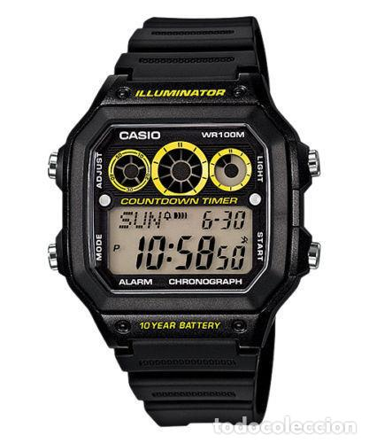 Uhr Nuevo Referee Timer Reloj Arbitraje Yellow Casio Countdown Illuminator Modo Watch A3jR54Lq