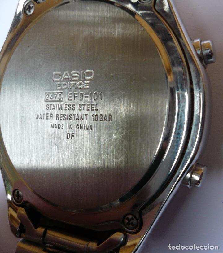 Relojes - Casio: RELOJ CASIO EDIFICE 100M - Foto 2 - 88142920