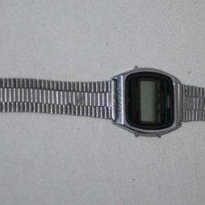 Relojes - Casio: RELOJ VINTAGE JAPONES CASIO METALICO 145 SA-55, VER DESCRIPCION. Lote 89606008
