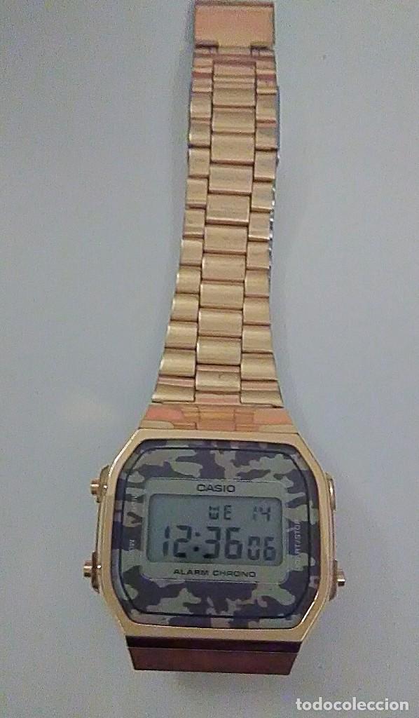 64861596aab8 reloj casio militar dorado